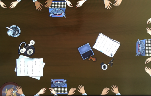 mesa manos